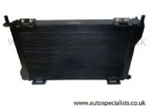 Fiesta MK6 ST150 Pro-series Black Airtec Alloy Radiator 45MM Core